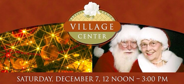 Santa's Coming to Bressi Ranch Village Center